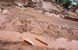 Villages were swamped with 1.1 million cubic metres of toxic red sludge