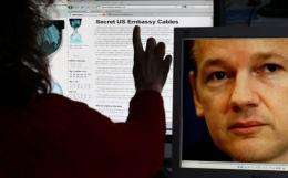 WikiLeaks said hackers are trying to overwhelm its servers