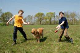 Young dog owners more physically active